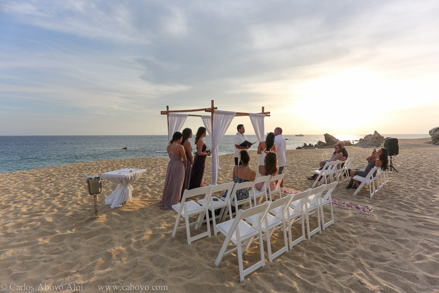 Pedregal beach cabo beach weddings