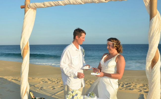 Beach weddings in cabo