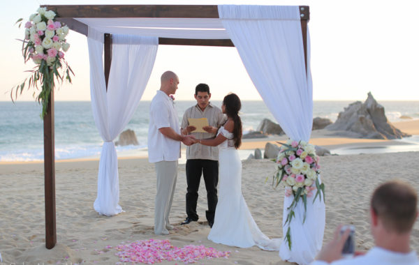 A Beach Wedding in Cabo